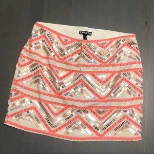 Express Dazzle Skirt